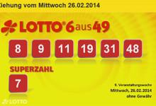 Rezultate loto germania 26.02.2014