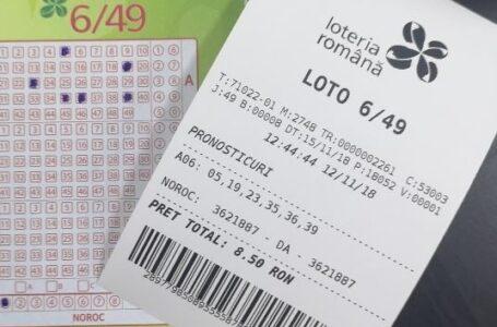 S-a câștigat la loto 5/40 – Rezultatele la tragerea loto