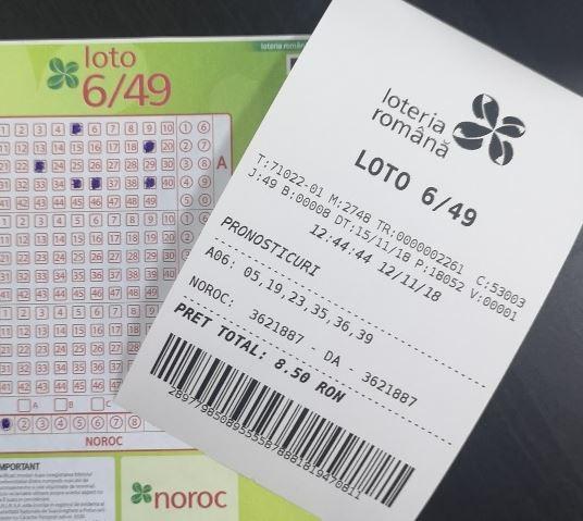 Loto 6 din 49 azi, cateva ganduri despre loterie