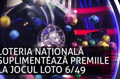 Loteria romana suplimenteaza premiile