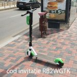 Trotinetă electrică Lime cod invitație RB2WGTK